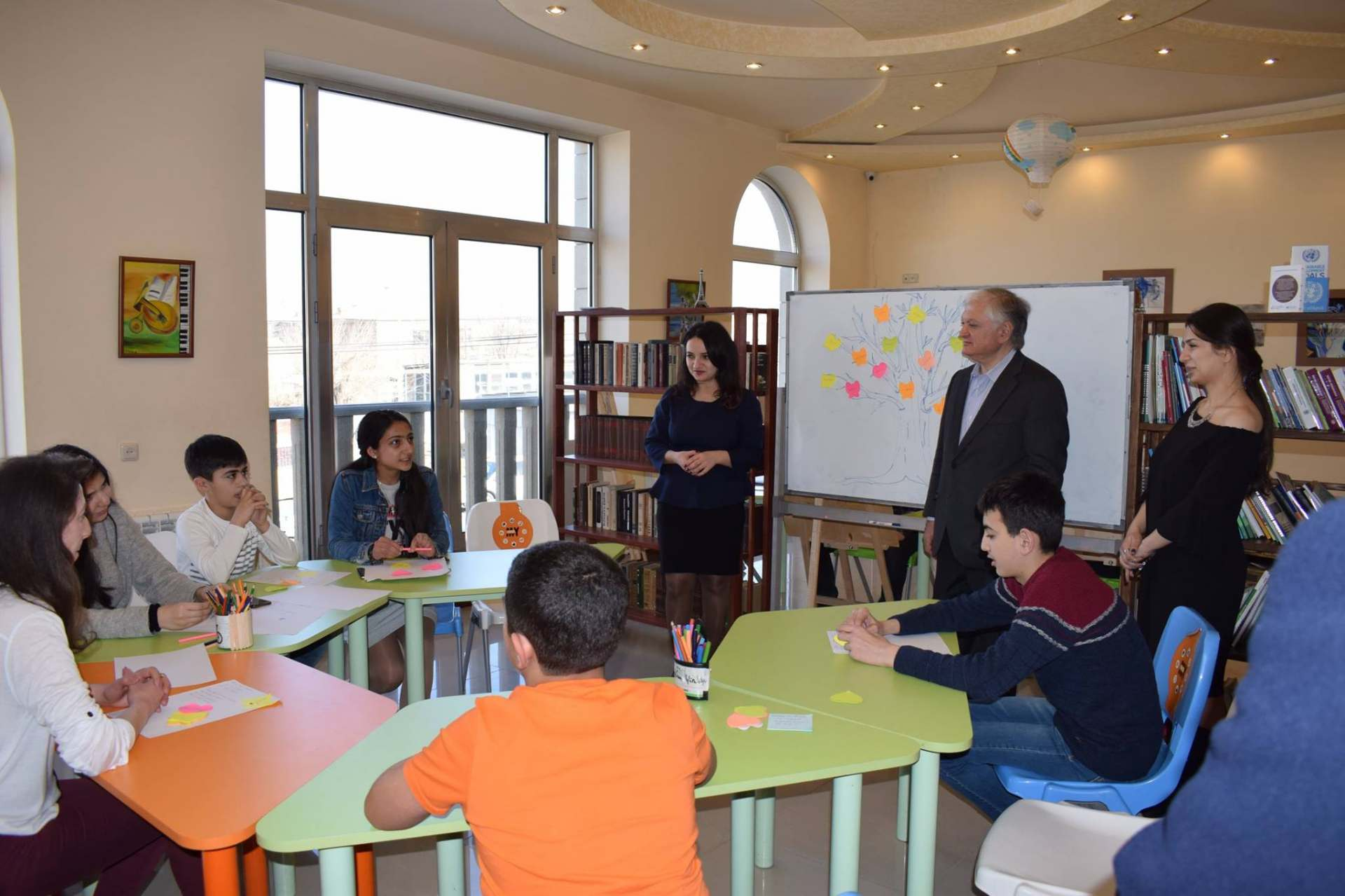 The Minister of Foreign Affairs Edvard Nalbandyan was hosted in Masis Development Foundation